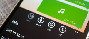 Beta do WhatsApp para Windows Phone permite salvar músicas no dispositivo