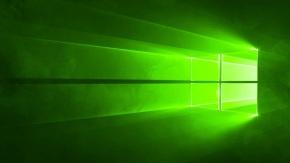 Windows 10 Wallpaper –Verde