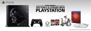 Revelada edição limitada de PS4 inspirada em DarthVader