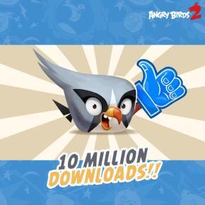 Sucesso! Angry Birds 2 atinge a marca de 10 milhões dedownloads