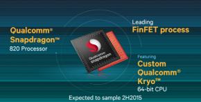 Samsung  testa o Snapdragon820